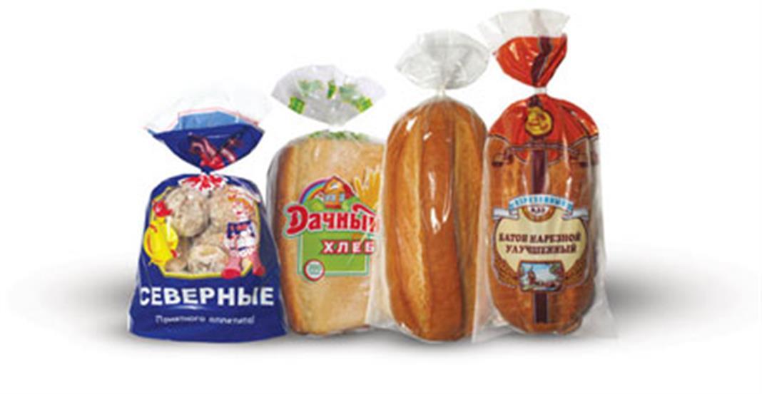 упаковочные пакеты для хлебобулочных изделий